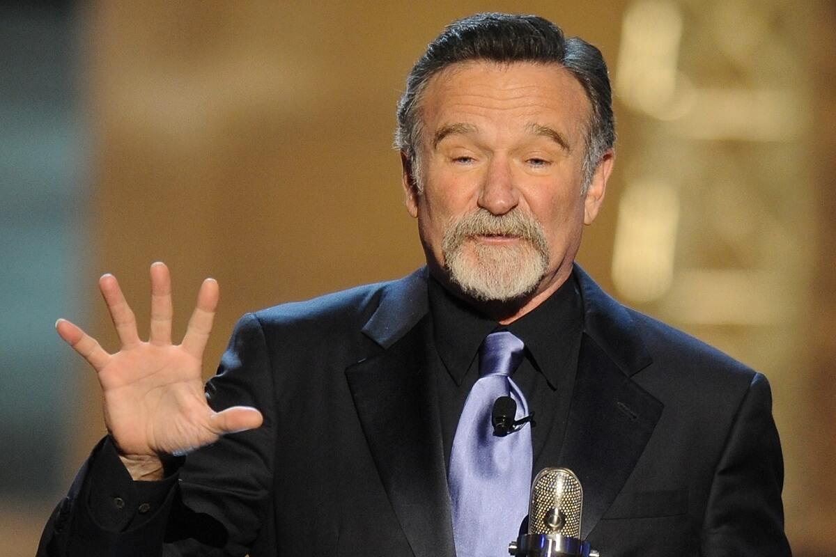 Der Schauspieler Robin Williams