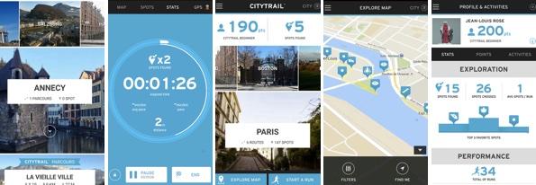 Raus aus der Komfortzone! Meine 7 Lieblings-Apps für Läufer: City Trail.