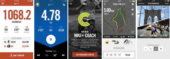 Raus aus der Komfortzone! Meine 7 Lieblings-Apps für Läufer: Nike Running.