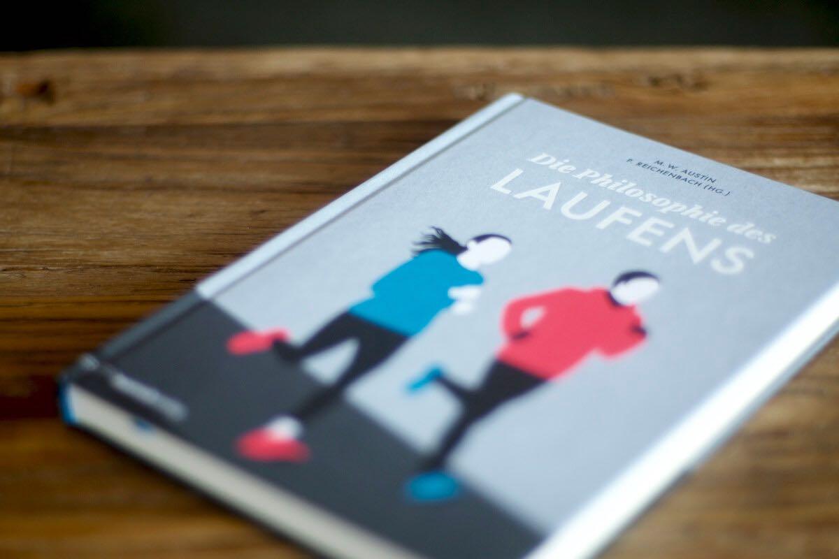Aufnahme des Buchs »Die Philosophie des Laufens«